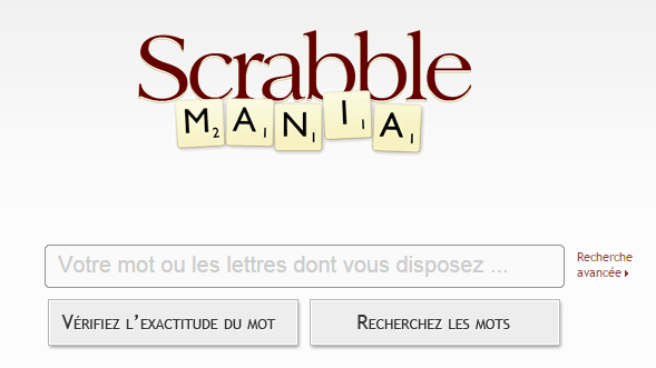 Dico Scrabble Mania