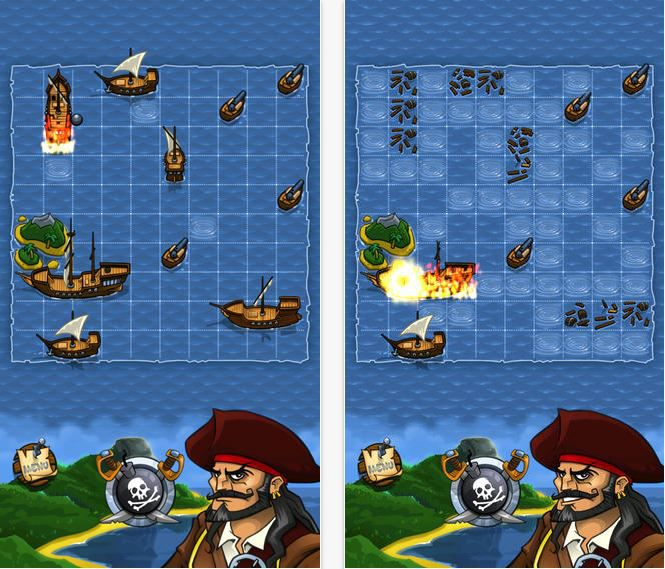 Battleship ! Pirates !