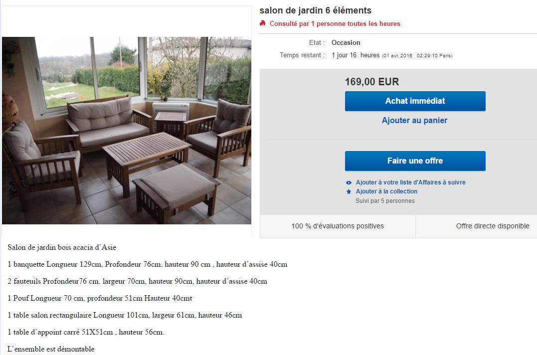 comment d poser une annonce sur ebay. Black Bedroom Furniture Sets. Home Design Ideas