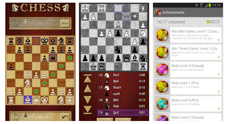 chess mobile app