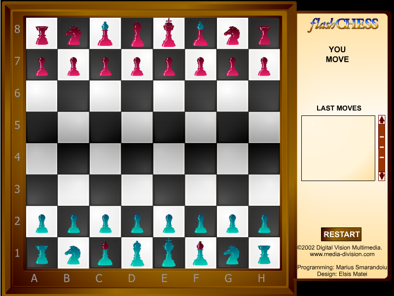 free flash chess
